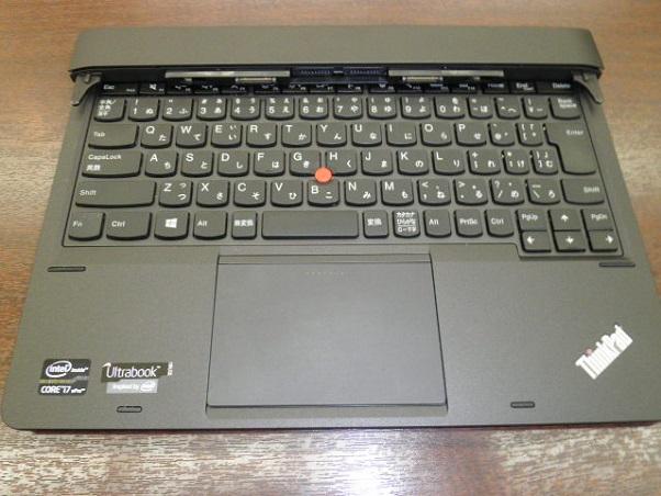 「ThinkPad Helix」キーボードドッグ