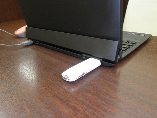 「ThinkPad Helix」後ろ